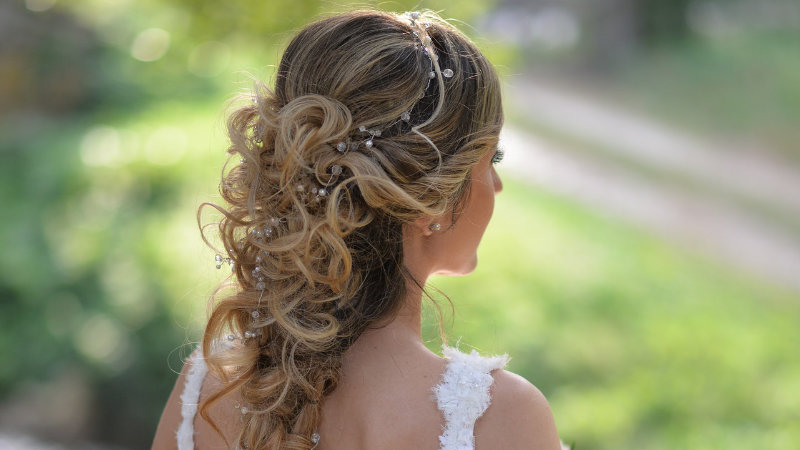 TANA-B Hair Company Wedding Prom Hair pic5
