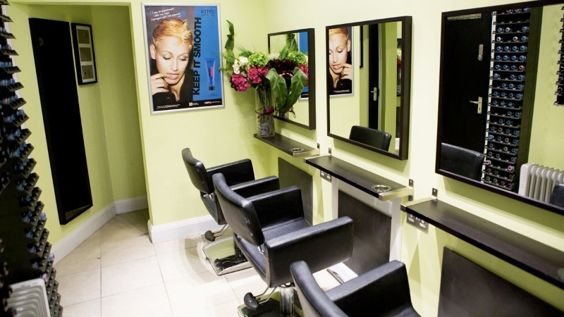 TANA-B Hair Company private salon area for wig fitting